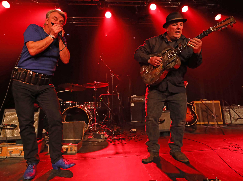 Klaus B Jensen & Poul Ewald